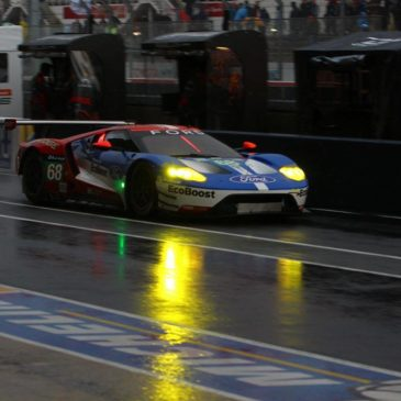 Rain disrupts Q2 at Le Mans