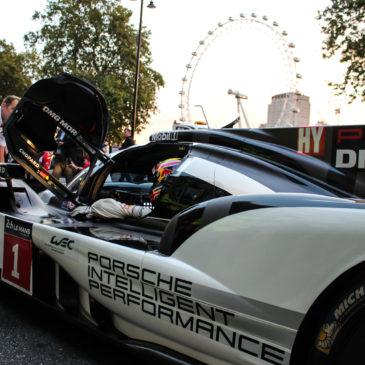 Mark Webber and Porsche take on London