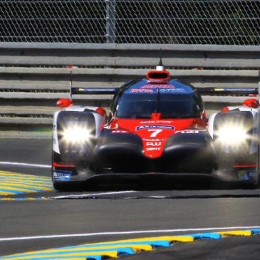 Toyota fastest in first qualifying session