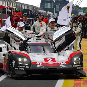 Porsche completes Nürburgring hat-trick