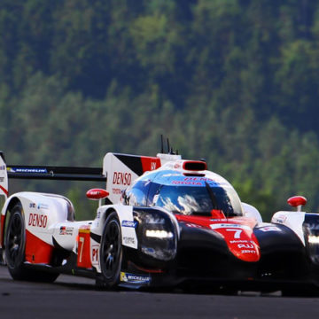 Toyota fastest in Free Practice three