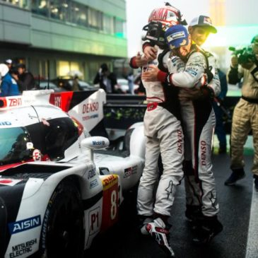 Toyota score 1–2 at rain-soaked home race