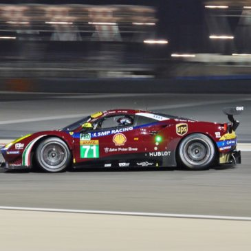 Porsche and Ferrari on pole for season finale