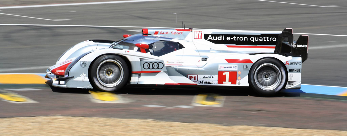 History – #1 Audi R18 e-tron quattro at the 2013 24 Hours of Le Mans