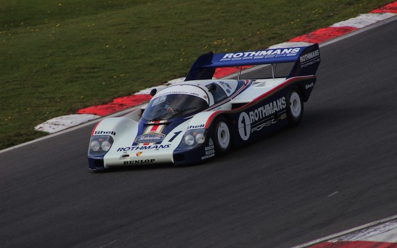 Legends of Le Mans – Rothmans Porsche 962 driven by Derek Bell