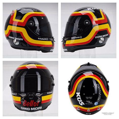 Timo Bernhard's Stefan Bellof tribute helmet
