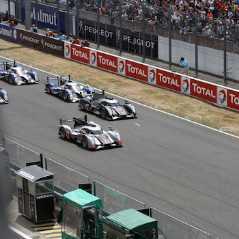 Legends of Le Mans – The start of the 2011 24 Hours of Le Mans
