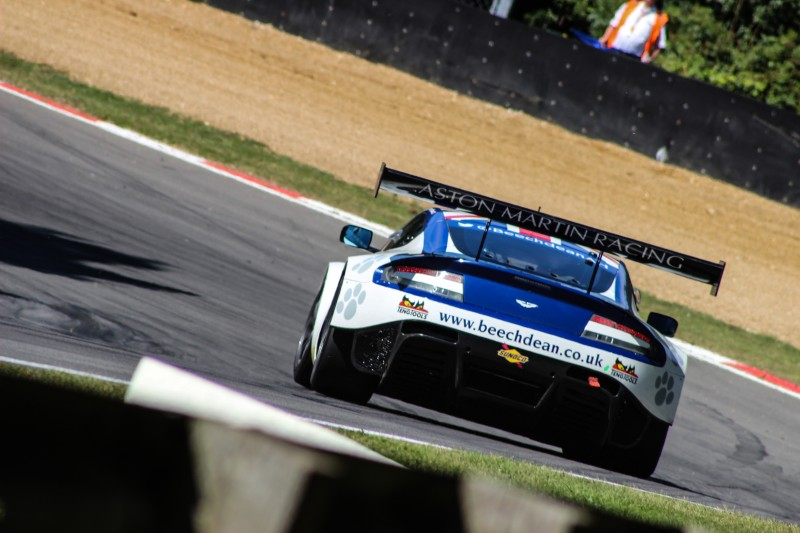Jonathan Adam's regular British GT drive