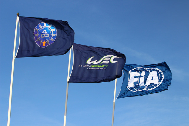FIA ANNOUNCEMENT FLAGS