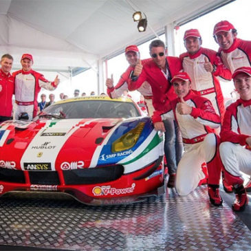 Ferrari reveal new GTE Challenger