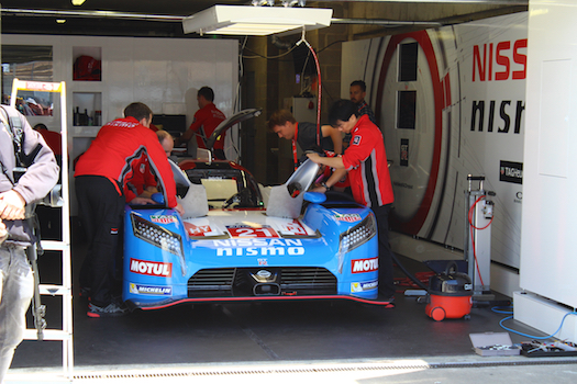 Nissan GTR-LM NISMO at the 2015 24 Hours of Le Mans