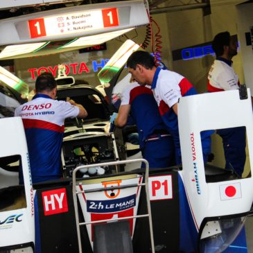 Toyota join the testing race