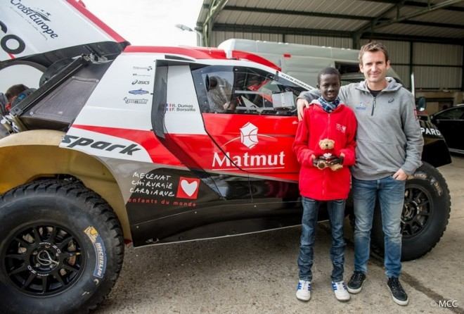 Dumas takes on 2016 DAKAR
