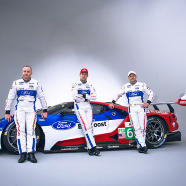 Ford reveal GTE-PRO drivers