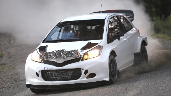 WRC Sarrazin Testing