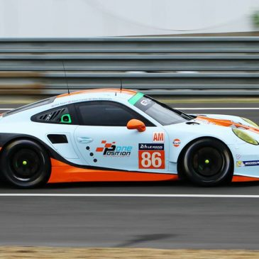 Gulf Racing confirm 2016 driver trio