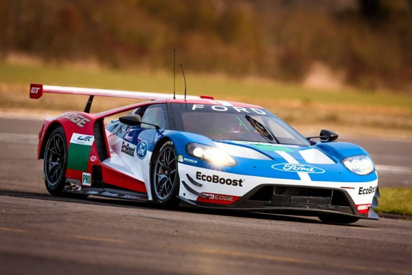 Franchitti Ford 2016 Shakedown