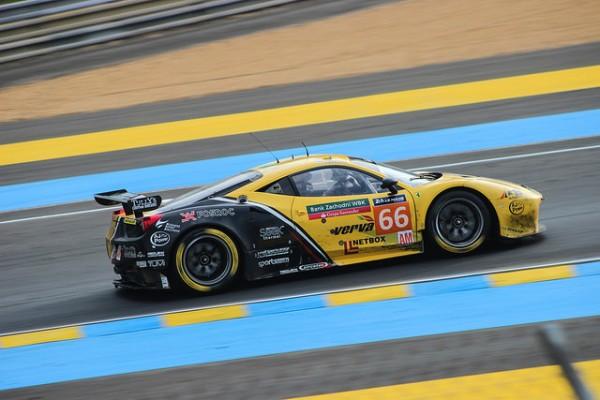 JMW Motorsport Le Mans 2015