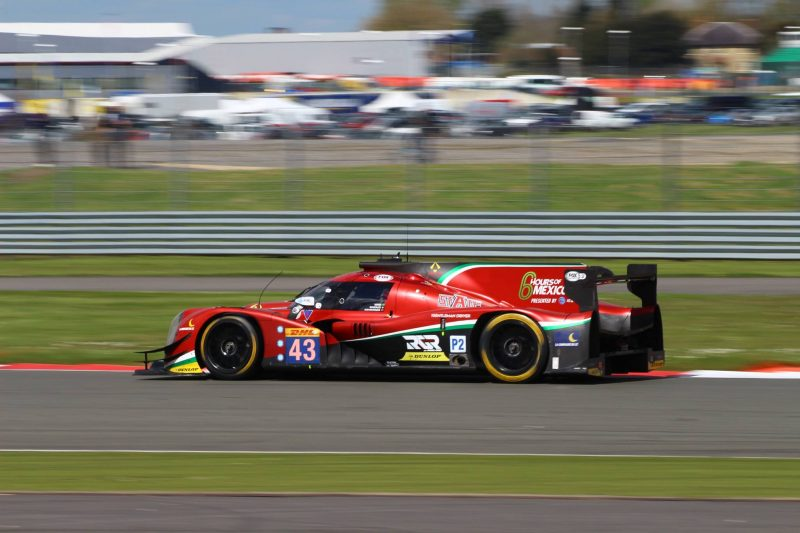 The #43 RGR Sport by Morand Racing Ligier JS P2 took the win at Silverstone