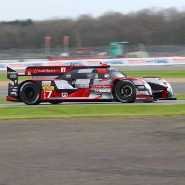 Audi take pole at Silverstone