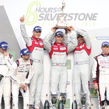 Audi take impressive victory at Silverstone