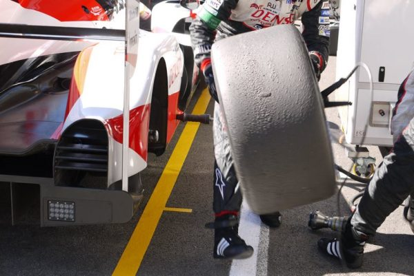 Toyota looked after their tyres