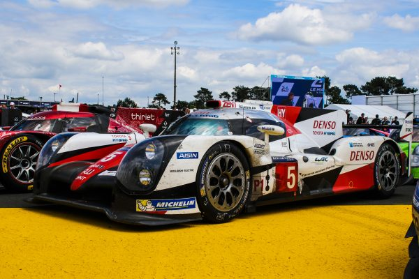 Toyota stood wounded but proud in Parc Ferme