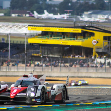 The WEC family pull together for Toyota