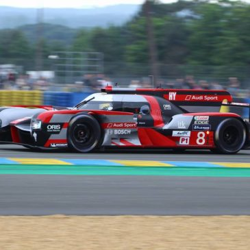 Audi quickest at Le Mans Test Day