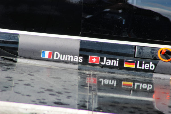 Jani, Dumas and Lieb go into this weekend as championship leaders