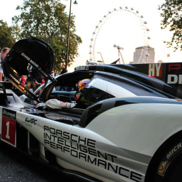 Mark Webber and Porsche take on London