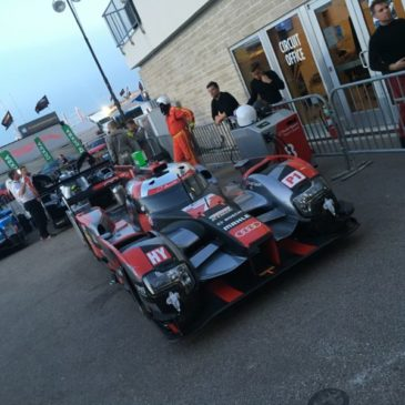 Audi lock out front row at COTA
