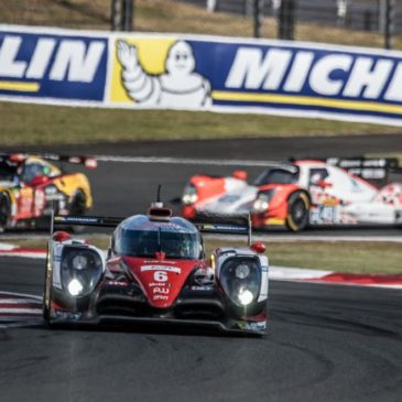 Toyota take hard-fought win at home race