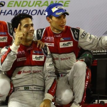 Porsche's Jani, Lieb and Dumas take the title as Audi complete perfect swan song