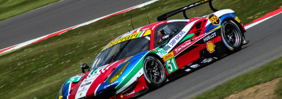 Pier Guidi will share the #51 Ferrari with James Calado this season