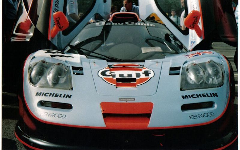 McLaren GT at the 1995 24 Hours of Le Mans