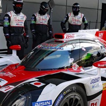 Silverstone Pole for Toyota