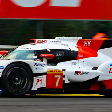 Toyota fastest at Spa