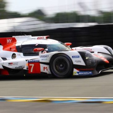 Toyota 1-2-3 at Le Mans Test Day