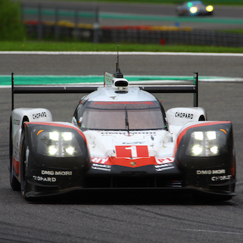 Porsche 919 Hybrid at the 2017 6 Hours of Spa-Francorchamps