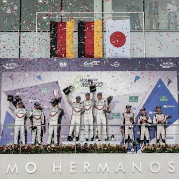 Porsche take commanding victory in Mexico