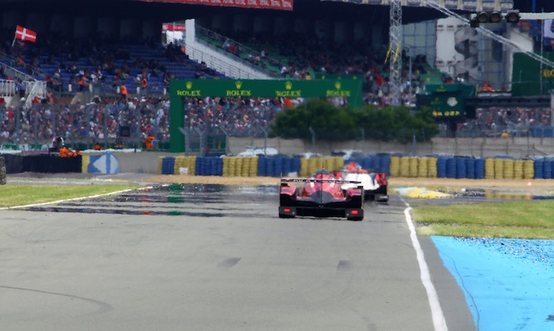 Cars at Le Mans 2016