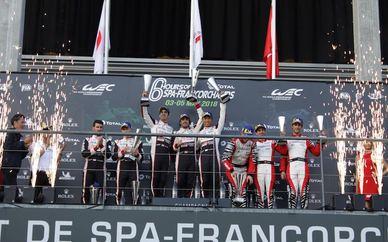 6h Spa – Podium celebrations