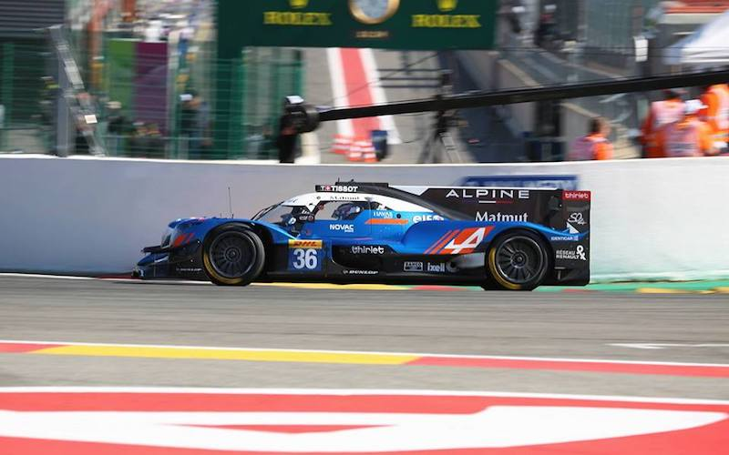 6h Spa – #36 Signatech Alpine Matmut the fastest time in LMP2