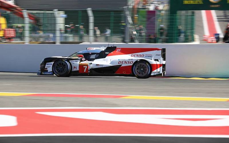 6h Spa – #7 Toyots TS050 Hybrid, the fastest car in qualifying