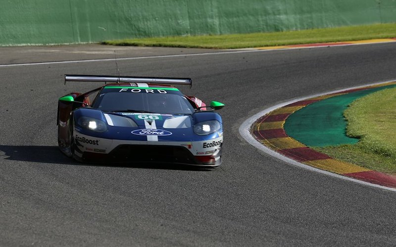 6h Spa – #66 Ford GT, polesitter in GTE Pro