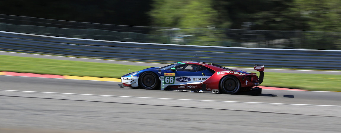 #66 Ford GT at the FIA WEC 6 Hours of Spa-Francorchamps 2018