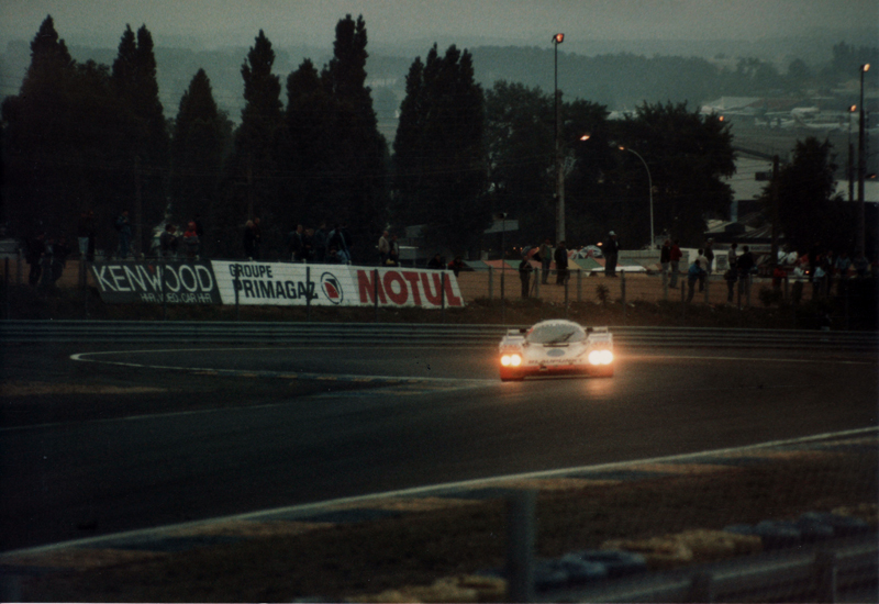 Legends of Le Mans – #8 Blaupunkt-Joest Racing Porsche 962C of Stanley Dickens, John Winter and Frank Jelinski at the 1988 24 Hours of Le Mans