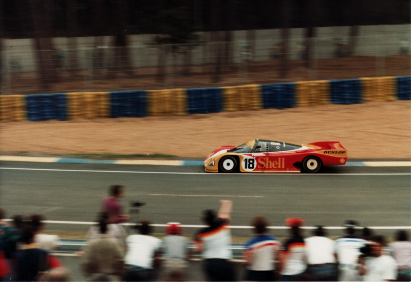 Legends of Le Mans – #18 Porsche 962C of Bob Wollek, Vern Schuppan and Sarel van der Merwe