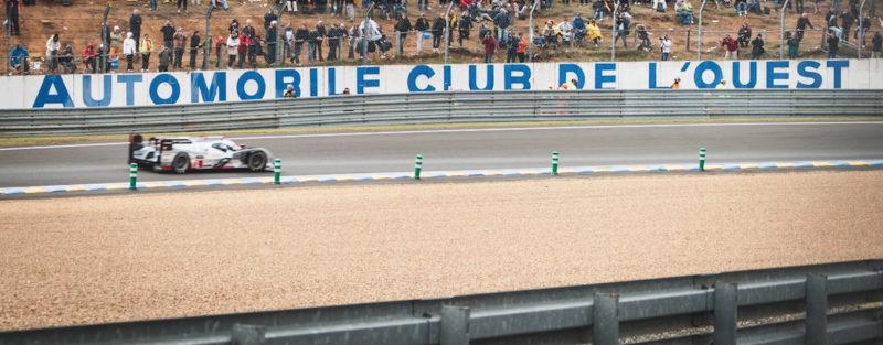 Legends of Le Mans – Audi R18 e-tron quattro passes through the Forest Esses at the Circuit de la Sarthe